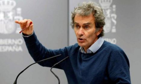 El director del Centro de Emergencia Sanitaria, Fernando Simón considera que el coronavirus se está estabilizando