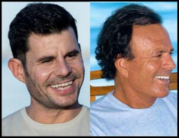 Javier Santos es hijo de Julio Iglesias