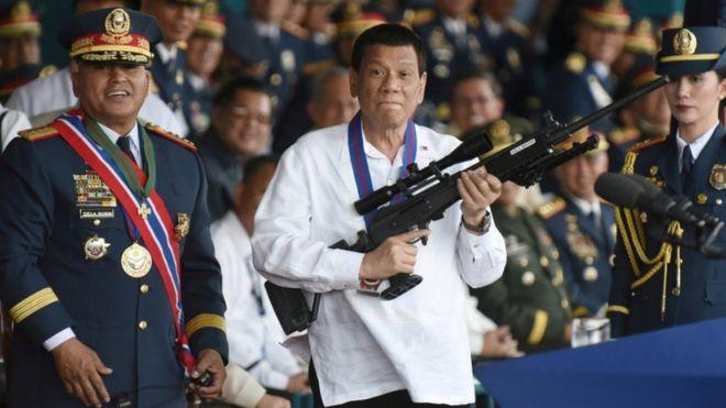 El presidente de Filipinas está dispuesto a declararle la guerra a Canadá