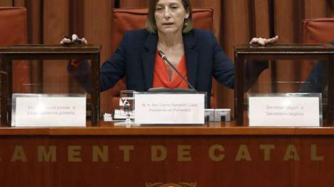 Forcadell se sube de nuevo al burro y se presentará a las elecciones con ERC