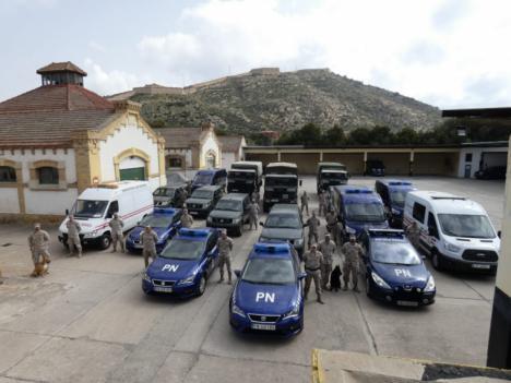 Alistamiento y activación contra el COVID-19 de todas las unidades de la Fuerza de Protección de la Armada (FUPRO)