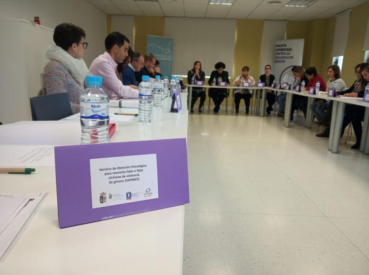 Se reúne la Mesa Local contra la Violencia de Género para planificar nuevas medidas de actuación en Puerto Lumbreras