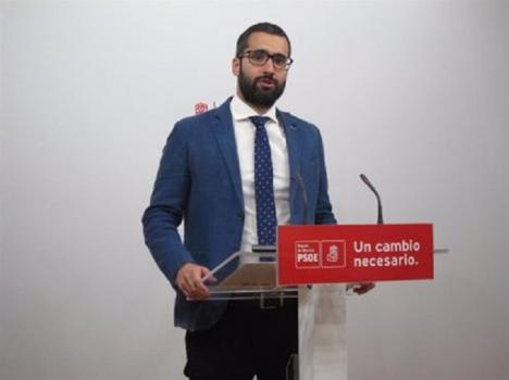 """Lucas: """"El PP de Murcia vuelve a las andadas, intentando coaccionarnos, al querellarse contra el PSRM por luchar por la transparencia y la limpieza en el Ayuntamiento de Murcia y en la Comunidad"""""""