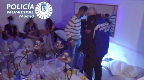 227 fiestas ilegales han sido desarticuladas en Madrid por la policía solo este fin de semana