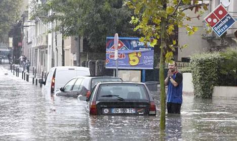 Seis muertos por inundaciones en el sur de Francia