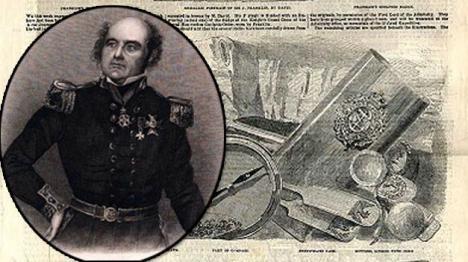 La expedición de John Franklin, que desapareció en 1845 en el Ártico