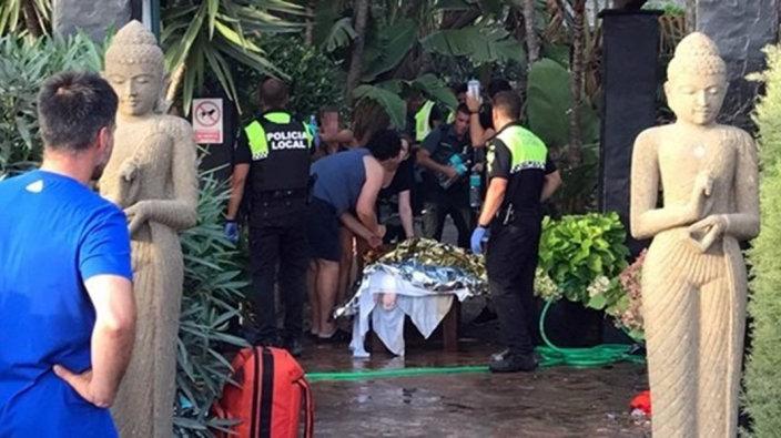 Los heridos del incendio en el Hotel de Tarifa evolucionan favorablemente