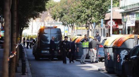 Un indigente encuentra el cadáver de un bebé en un contenedor de basura en Gijón