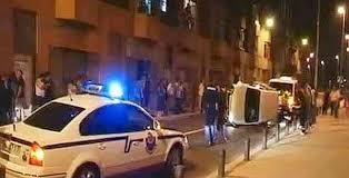 Los ocupantes de una furgoneta mixta se dan a la fuga tras el accidente