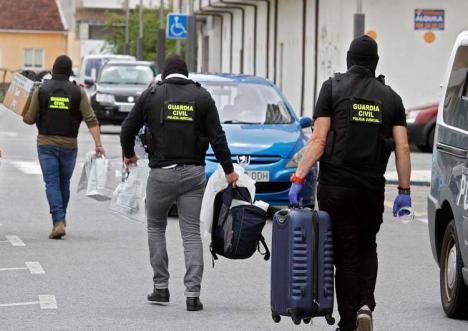 Un doble secuestro express destapa una red de narcotraficantes