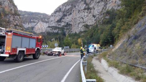 Fallece un ciclista en un choque con un turismo