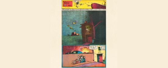 Exposición: George Herriman en el Reina Sofía.