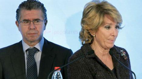 Hoy declara Granados , mañana Esperanza Aguirre puede ser imputada