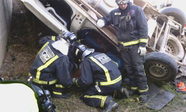 Dos fallecidos en un accidente de trafico en Caravaca