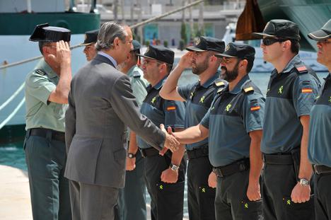 Doscientos guardias civiles del Servicio de Información, enviados a Cataluña