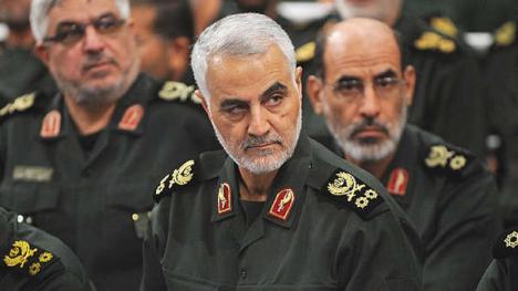 Irán derriba un