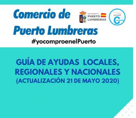 El Ayuntamiento de Puerto Lumbreras distribuye una guía de ayudas a autónomos y pymes frente al COVID-19