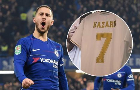 Hazard ya es del Real Madrid que ha pagado al Chelsea 100 millones de euros