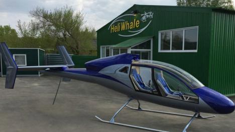 Afalina, el helicóptero más barato del mundo.