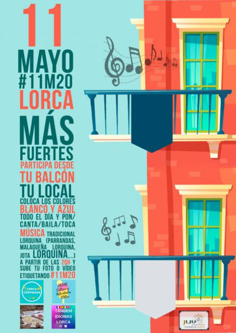 Varias plataformas digitales se unen para poner en marcha la actividad 'Lorca más fuertes' para conmemorar desde casa el noveno aniversario de los terremotos de mayo de 2011