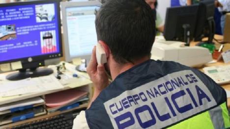La Policía Nacional detiene a 57 personas que extorsionaban, presuntamente a usuarios de páginas webs de servicios sexuales