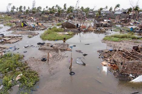 Casi un millar de muertos por el paso del ciclón 'Idai' por Mozambique, Zimbabue y Malaui