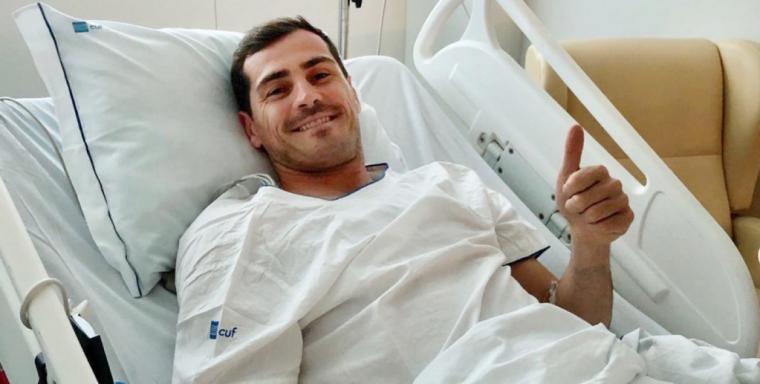 'Casillas no tendrá secuelas pero aún es pronto para saber si volverá a jugar'
