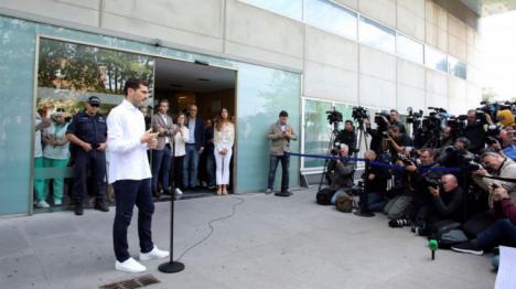 Iker Casillas: 'Lo importante es poder estar aquí'