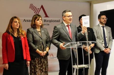"""Diego Conesa: """"Los presupuestos del Gobierno regional son fruto de su miedo ante las imposiciones de la extrema derecha"""""""
