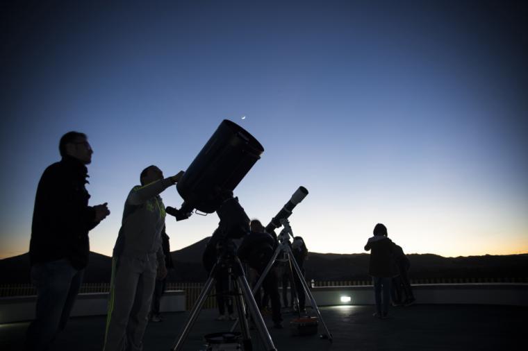 El Observatorio Astronómico de Puerto Lumbreras duplica sus visitantes en los últimos 3 años