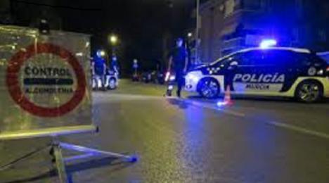 Cerca de 3.000 conductores dieron positivo en las 217.562 pruebas de alcoholemia realizadas en 2019 en las vías interurbanas murcianas