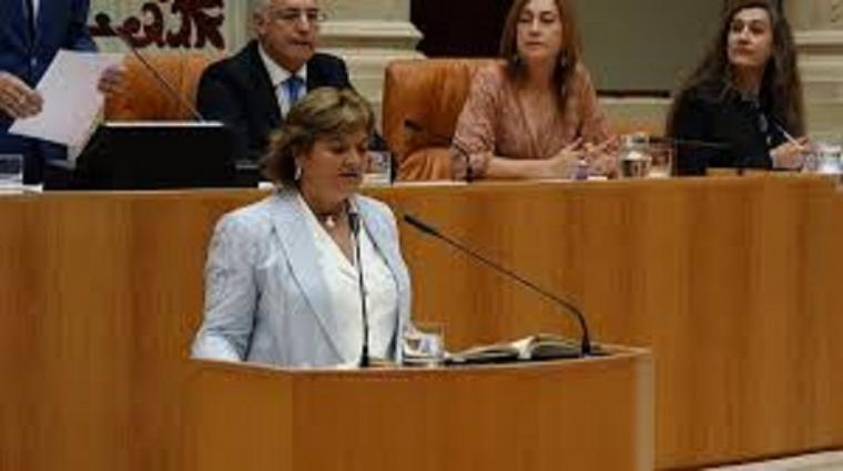 Una diputada del PP en La Rioja hace un alegato pidiendo 'un golpe militar'