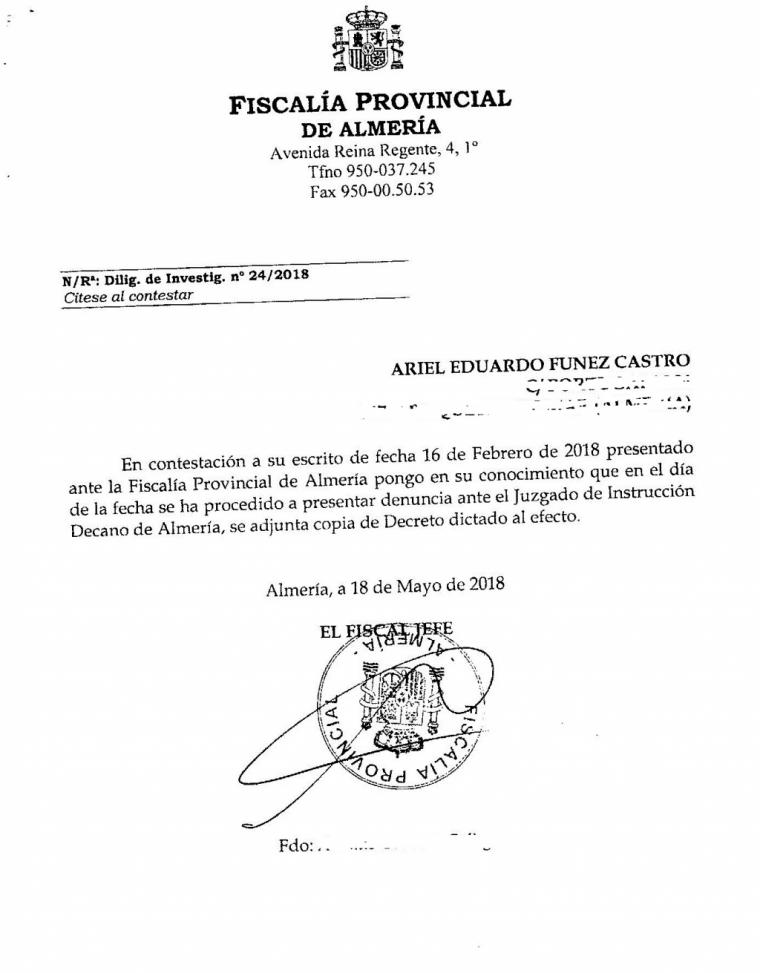 El gobierno del popular Luis Rogelio Rodríguez Comendador, nido de la corrupción en Almería