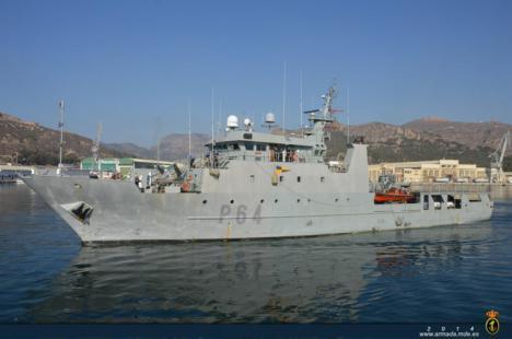 """El patrullero """"Tarifa"""" auxilia a un pesquero que se encontraba la deriva en aguas próximas a las islas Baleares"""