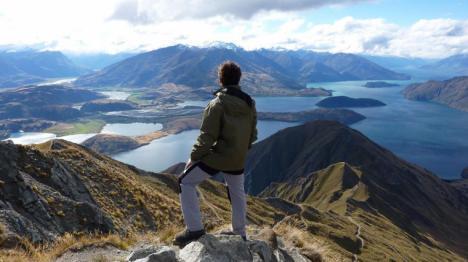 Una masa de agua cálida se desplaza por el Pacífico cdesde Nueva Zelanda a Sudamérica