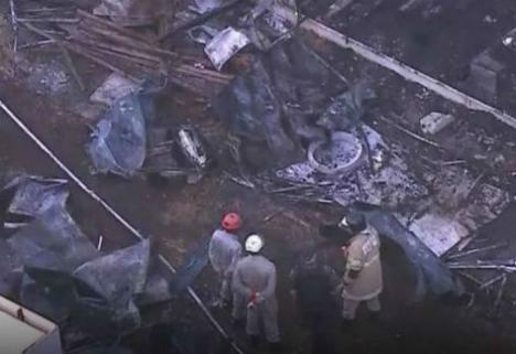 Diez muertos tras un incendio en la ciudad deportiva del Flamengo