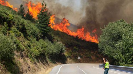 El CSIF denuncia la escasez de medios en el operativo de incendios
