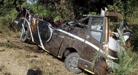 Cuatro españoles mueren en un accidente en el sur de India