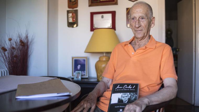 El coronel Amadeo Martínez Inglés sostiene en su obra que, ' El rey Juan Carlos podría tener más de 20 hijos'