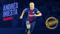Iniesta renueva en el Barça de por vida