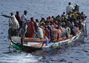 Siete mujeres muertas en su intento de llegar a Melilla
