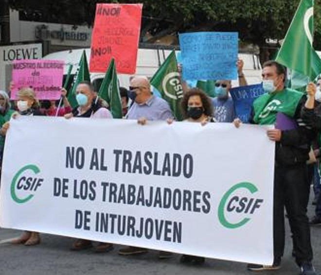 La Junta adscribe a los trabajadores de Inturjoven de Almería a Aguadulce desde el lunes, pero éstos se incorporarán a las nuevas instalaciones en el transcurso de la próxima semana