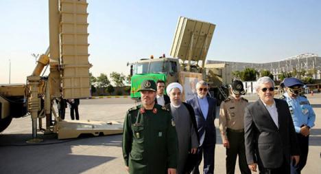 El presidente iraní, Hasán Rohaní, muestra al mundo su poderío armamentístico