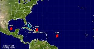 Irma, José y Katia, hijos del calentamiento global.