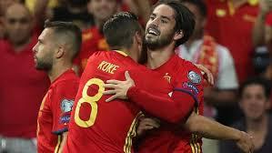 Contundente victoria de España ante Albania que se clasifica para el Mundial de Rusia