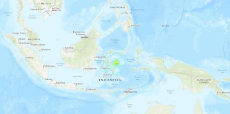 ÚLTIMA HORA: Un terremoto de 6,8 grados ha azotado Indonesia