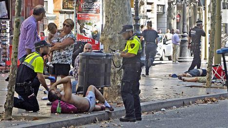 53, 46 y 8 años de cárcel para los tres yihadistas de los atentados de Barcelona en 2017 donde murieron asesinadas 16 personas