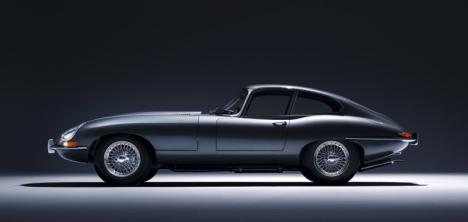 El Jaguar e-type.