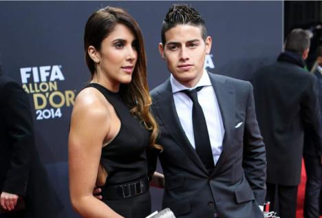 James Rodriguez se separa de su pareja