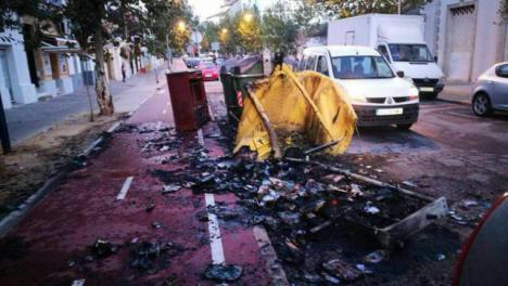 Halloween deja daños en Jerez por valor de más de 8.000 euros.